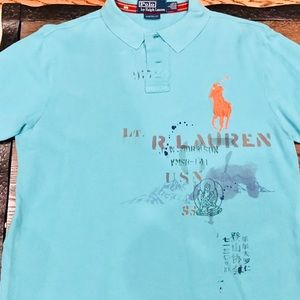 Men's Polo Ralph Lauren golf shirt